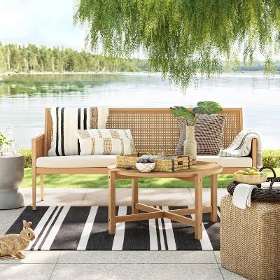 benmore deep seating patio sofa set