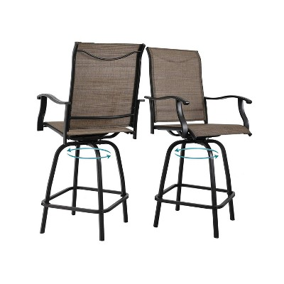 patio sling bar chairs target