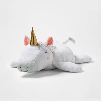 large plush unicorn pillowfort