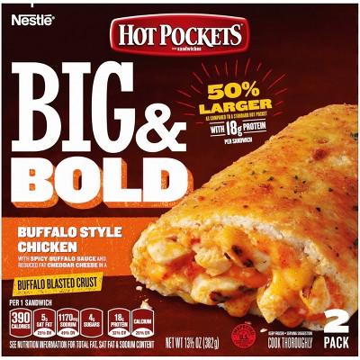 hot pocket big bold buffalo style chicken 13 5oz