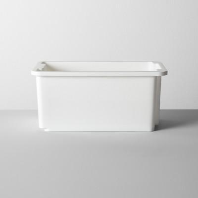 under sink storage small white made by design