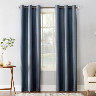 Sun Zero Cooper Textured Thermal Insulated Grommet Curtain Panel Target