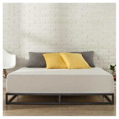 6 Quot Platforma Metal Bed Frame Black Zinus Target