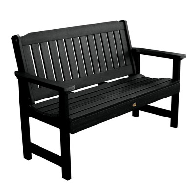 black outdoor benches target