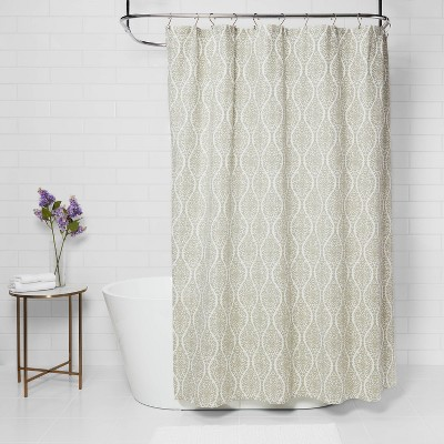 long shower curtains target
