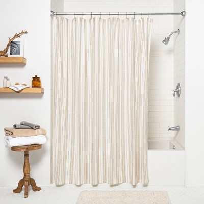 double shower curtain rod target