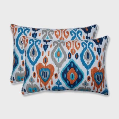 2pk paso oversized rectangular outdoor throw pillow azure blue pillow perfect