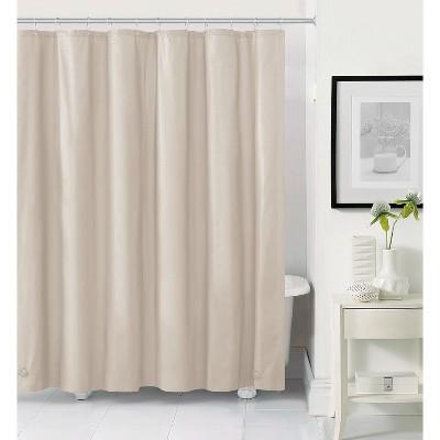 kate aurora hotel heavy duty 10 gauge vinyl shower curtain liners bone 72 x 72 standard shower curtain liner