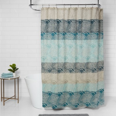 fabric shower curtain sets target