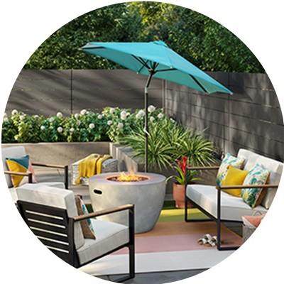 outdoor patio ideas target