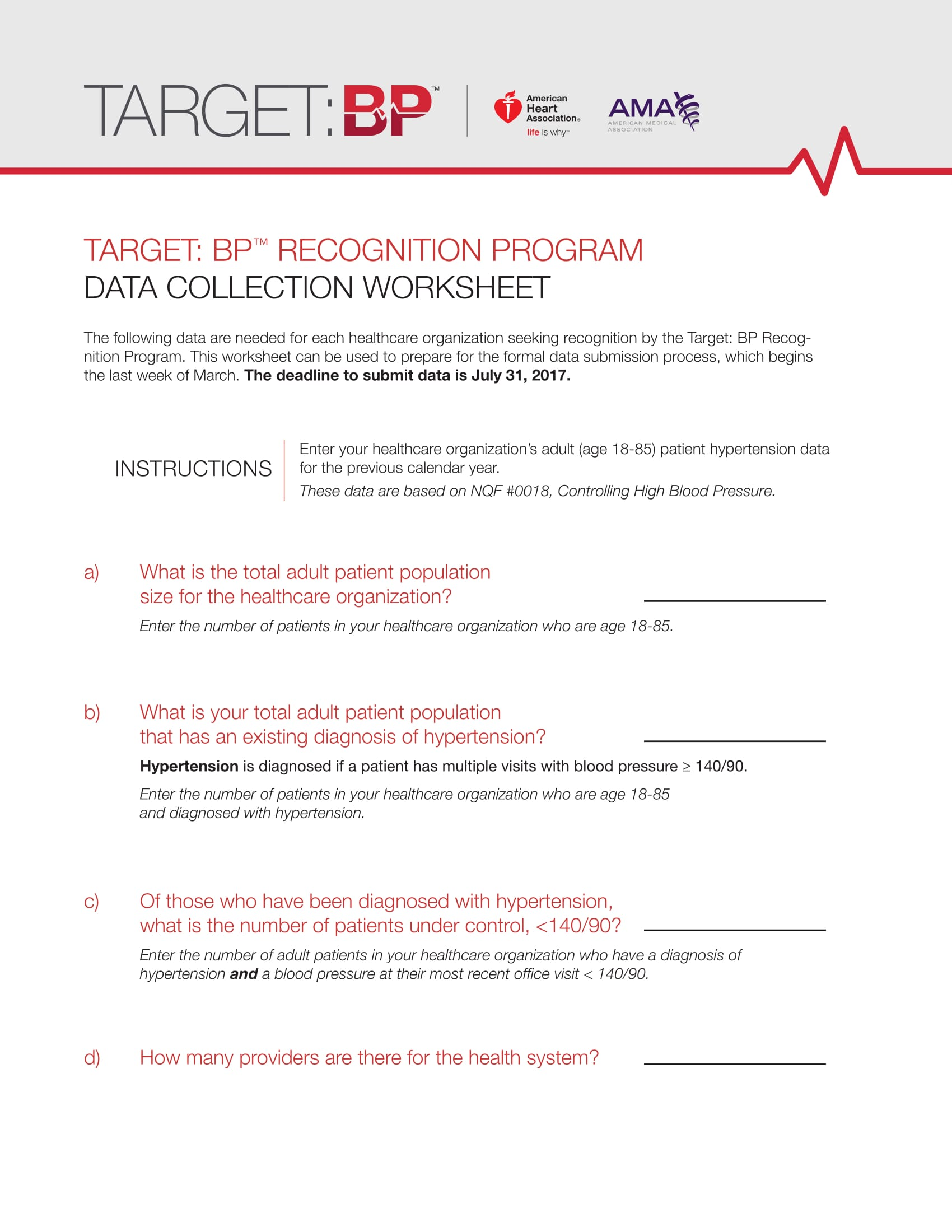 Recognition Program