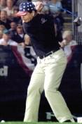Eric Jones World Long Drive Championship Swing