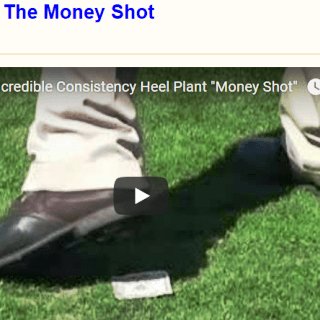 Driver Tip 1: The Money Shot - TARGET CENTERED GOLF