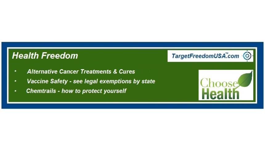 Health Freedom Target Freedom USA Page Logo