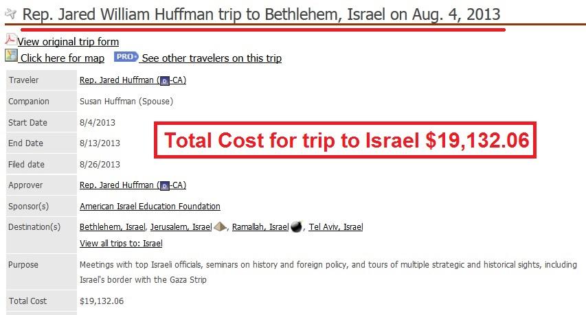 Huffman Israel
