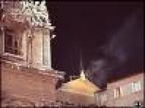 White Smoke 1958 Sistine Chapel