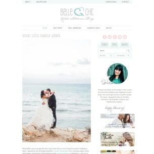 Desarrollo Genesis WordPress - Belle & Chic