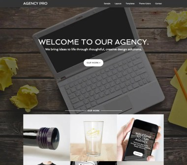 Genesis Agency Pro Theme by StudioPress