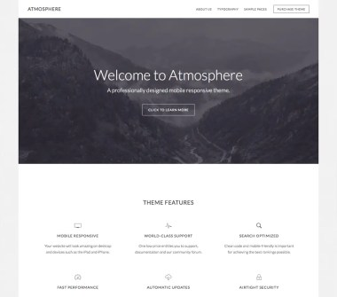 Genesis Atmosphere Pro Theme by StudioPress