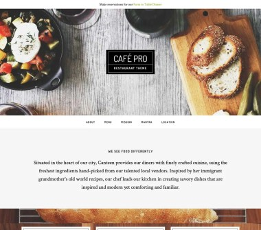 Genesis Café Pro Theme by StudioPress