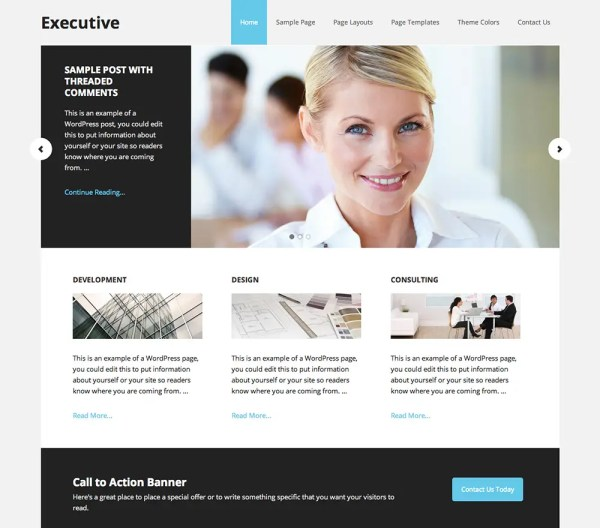 Genesis Executive Pro Theme by StudioPress
