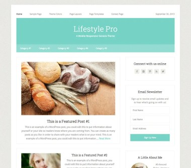 Genesis Lifestyle Pro Theme by StudioPress