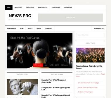 Genesis News Pro Theme by StudioPress