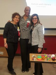 Suzanne Schriar, Debra Vines and Mary Pelich