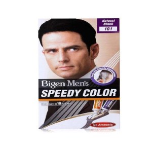 Bigen Men's Beard Colour Natural Black 101