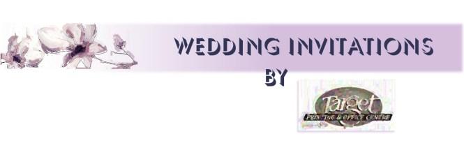 Wedding Invitation Order Form