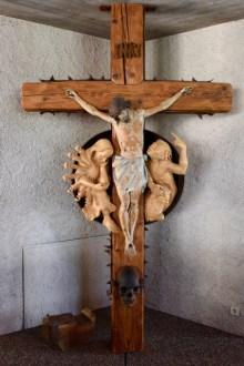 12. Jesus died on the cross.