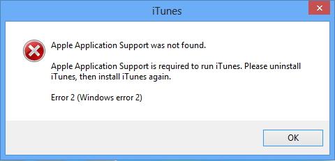 Itunes no está instalado en Windows 8 1  ITunes no está instalado en