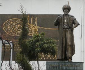 I._Bayezid_heykeli_Yavuz_Görey