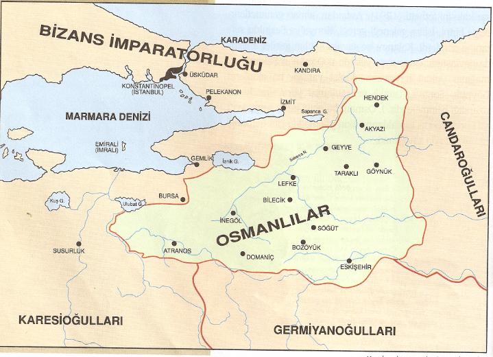 Osman Gazi'nin bağımsızlığını ilan etmesi ve Osmanlı Devleti'nin temelinin atılması