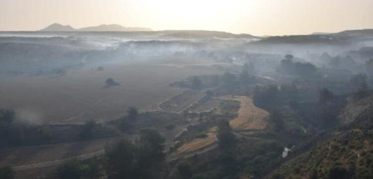 KKTC'deki Yangın Kontrol Altına Alındı… 800 Yıllık Ağaçlar Yandı