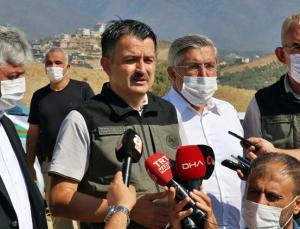 Bakan Pakdemirli: Hatay'da 5 Gündür Süren Orman Yangını Kontrol Altına Alındı