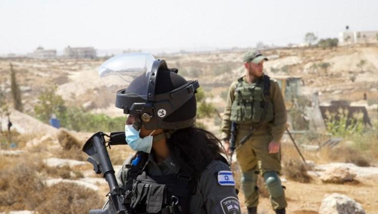 İşgalci İsrail, Filistinlilere Ait 10 Bin Metrekarelik Tarım Arazisine Zarar Verdi