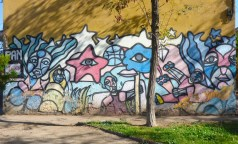 BRP style mural