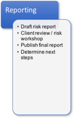 risk assessment process phase 4 - Reporting
