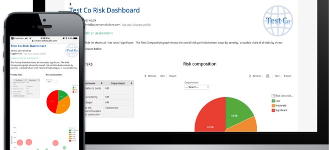 DCDR risk management software