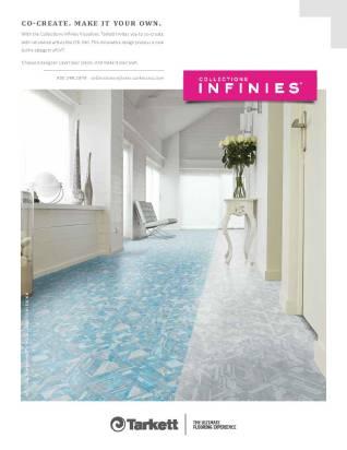 This ad will be featured in Interior Design magazine