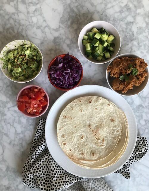 Vegansk tacofärs till taco tuesday