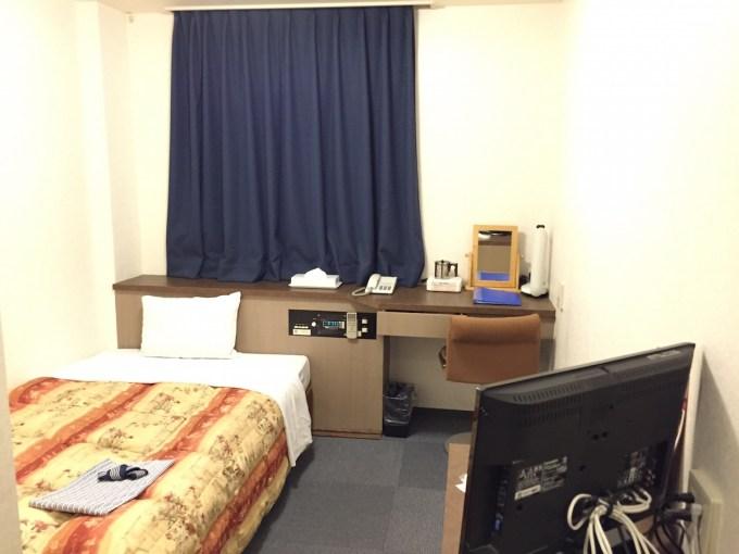 20141015ビジネスホテル YANAGI