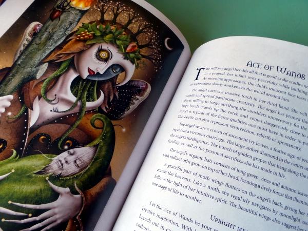 Deviant Moon Tarot Book ace of wands