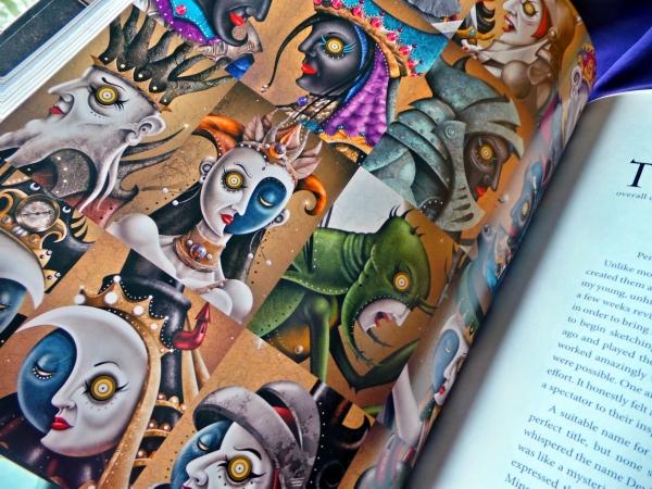Deviant Moon Tarot Book minors