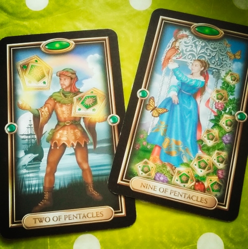 Tarot card combinations finances savings