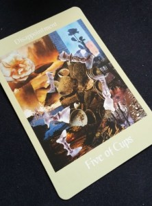 Tarot Numerology Five of Cups
