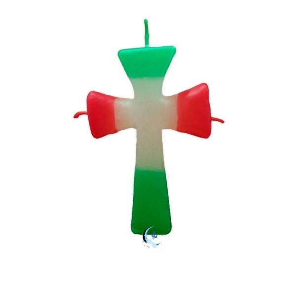 Figura de cera Cruz de San Jorge
