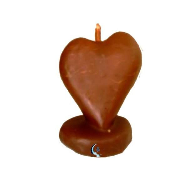 Figura de cera corazón de miel