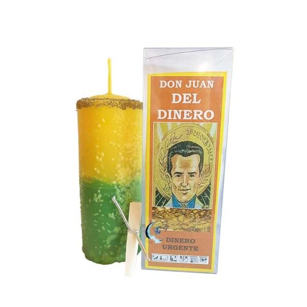 Velón preparado Don Juan del Dinero